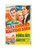 Alexander's Ragtime Band, Don Ameche, Alice Faye, Tyrone Power, 1938 Posters