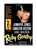 Ruby Gentry, Charlton Heston, Jennifer Jones, 1952 Posters