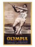 Olympiad, (AKA Olympia 1 Teil-Fest Der Volker), Documentary By Leni Riefenstahl, 1938 Poster