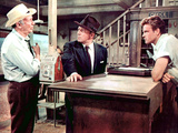 Bad Day At Black Rock, Walter Brennan, Spencer Tracy, John Ericson, 1955 Planscher