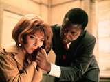 In The Heat Of The Night, Lee Grant, Sidney Poitier, 1967 Print