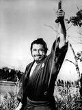Yojimbo, Toshiro Mifune, 1961 Kunstdruck