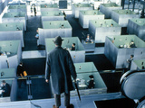 Playtime, Jacques Tati, 1967 Print