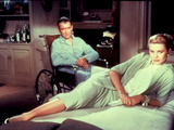 Rear Window, James Stewart, Grace Kelly, 1954 Photo