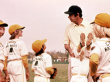 The Bad News Bears, Tatum O'Neal, Alfred Lutter III, Walter Matthau, 1976 Photo