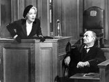 Witness For The Prosecution, Marlene Dietrich, 1957 Plakater