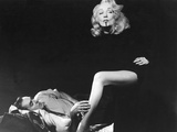Witness For The Prosecution, Tyrone Power, Marlene Dietrich, 1957 Photo