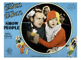 Show People, William Haines, Marion Davies, 1928 Posters