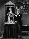 You Can't Cheat An Honest Man, Charlie McCarthy, Edgar Bergen, 1939 Photo