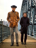 Midnight Cowboy, Jon Voight, Dustin Hoffman, 1969 Photo