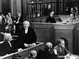 Witness For The Prosecution, John Williams, Charles Laughton, Henry Daniell, Tyrone Power, 1957 Photo