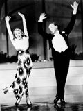 Shall We Dance, Ginger Rogers, Fred Astaire, 1937 Póster