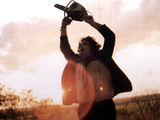 Texas Chainsaw Massacre, Gunnar Hansen, 1974 Photographie