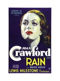 Rain, Joan Crawford, 1932 Photo