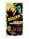 Bedlam, Boris Karloff, 1946 Prints