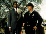 In The Heat Of The Night, Sidney Poitier, Rod Steiger, 1967 Photo