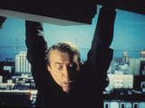 Vertigo, James Stewart, 1958, Hanging From The Building Obrazy