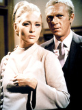 The Thomas Crown Affair, Faye Dunaway, Steve McQueen, 1968 Plakater