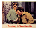 Somebody Up There Likes Me, Pier Angeli, Paul Newman, 1956 Photo
