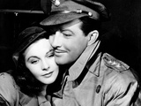 Waterloo Bridge, Vivien Leigh, Robert Taylor, 1940 Photo
