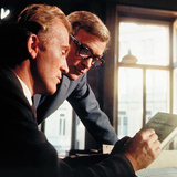 The Ipcress File, Gordon Jackson, Michael Caine, 1965 Photo
