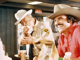 Smokey And The Bandit, Jackie Gleason, Burt Reynolds, 1977 Photo