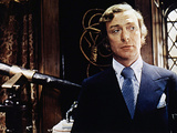 Sleuth, Michael Caine, 1972 Photo