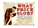 What Price Glory, Victor McLaglen, Dolores Del Rio, 1926 Photo