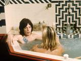 Performance, Mick Jagger, Anita Pallenberg, 1970 Foto