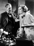 Dinner At Eight, Lionel Barrymore, Billie Burke, 1933 Photo