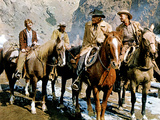 Ride The High Country, Mariette Hartley, Ron Starr, Joel McCrea, Randolph Scott, 1962 Poster