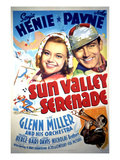Sun Valley Serenade, Sonja Henie, John Payne, Glenn Miller, 1941 Posters