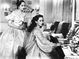Wuthering Heights, Merle Oberon, Geraldine Fitzgerald, 1939 Photo
