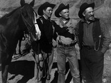 Wagon Master, (AKA Wagonmaster), Ben Johnson, Harry Carey, Jr., Ward Bond, 1950 Print