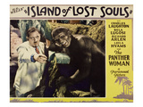 Island Of Lost Souls, Charles Laughton, 1932 Posters