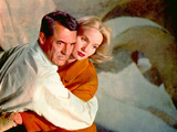 North By Northwest, Cary Grant, Eva Marie Saint, 1959, Clinging Prints