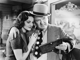 You Can't Cheat An Honest Man, Constance Moore, W.C. Fields, 1939 Photo