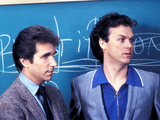 Night Shift, Henry Winkler, Michael Keaton, 1982 Photo