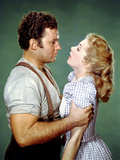 Oklahoma!, Rod Steiger, Shirley Jones, 1955 Photo