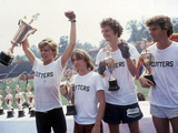 Breaking Away, Dennis Christopher, Jackie Earle Haley, Daniel Stern, Dennis Quaid, 1979 Photo