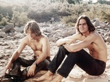 Two-Lane Blacktop, Dennis Wilson, James Taylor, 1971 Photo