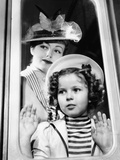 Wee Willie Winkie, June Lang, Shirley Temple, 1937 Print