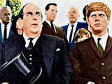The Loved One, Robert Morley, Robert Morse, 1965 Photo