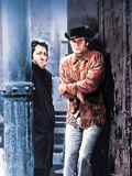 Midnight Cowboy, Dustin Hoffman, Jon Voight, 1969 Photo