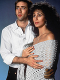 Moonstruck, Nicolas Cage, Cher, 1987 Photo