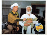 Roll On Texas Moon, Roy Rogers, Gabby Hayes, 1946 Photo