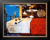 Nature Morte Vivente Print by Salvador Dalí