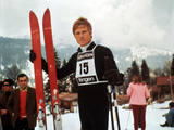 Downhill Racer, Robert Redford, 1969 Photo