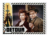Detour, Ann Savage, Tom Neal, 1945 Photo