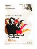 Dirty Harry, Clint Eastwood, 1971 Posters